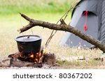 Camping Kitchenware   Pot On...