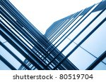 modern glass silhouettes of... | Shutterstock . vector #80519704
