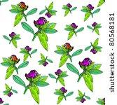 flower pattern | Shutterstock .eps vector #80568181