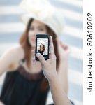 taking a beautiful asian woman...   Shutterstock . vector #80610202