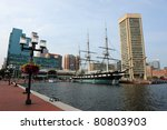 View Of Baltimore Harbor With...