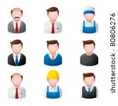 people icons | Shutterstock .eps vector #80806276