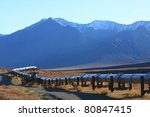 oil pipeline on the north slope ... | Shutterstock . vector #80847415