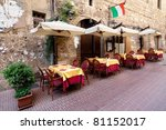 Siena - Picturesque nook of Tuscany - stock photo