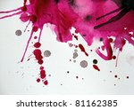 abstract illustrated grunge... | Shutterstock . vector #81162385