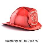 fireman helmet | Shutterstock . vector #81248575