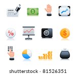 banking icons | Shutterstock .eps vector #81526351