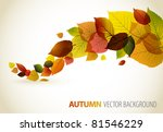 Autumn Abstract Floral...
