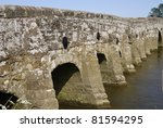 Ancient Stone Bridge Over Rive...