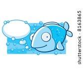 fish talk | Shutterstock .eps vector #8163865