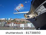 bow of the ss great britain in... | Shutterstock . vector #81738850