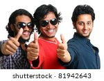group of indian young people... | Shutterstock . vector #81942643