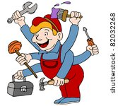 an image of a handyman who is a ...