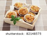 Homemade Muffins With Ham And...