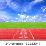 start or finish position on... | Shutterstock . vector #82223047