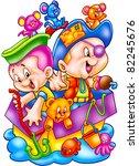 funny cartoons | Shutterstock . vector #82245676
