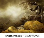 Постер, плакат: Fantasy scenery with a