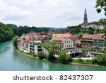 View On Old Town Of Bern And...
