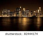 Lower Manhattan In New York...