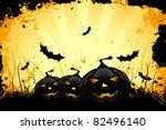 grungy halloween background...
