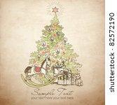 Vintage Christmas Card ....