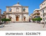 baroque church of the... | Shutterstock . vector #82638679