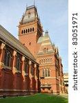 Memorial Hall In Harvard...