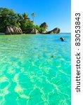 shore getaway season | Shutterstock . vector #83053843