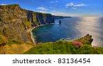 cliffs of moher  ireland   Shutterstock . vector #83136454