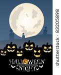 halloween eight | Shutterstock .eps vector #83205898