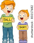 illustration of kids holding... | Shutterstock .eps vector #83217682