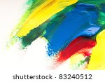 mixing paints. background | Shutterstock . vector #83240512