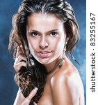 sexual female portrait   Shutterstock . vector #83255167