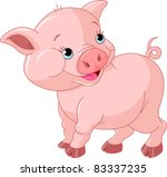agriculture,animal,art,artwork,baby,bacon,barn,cartoon,clip art,clip-art,cute,domestic,drawing,farm,illustration