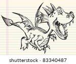 doodle sketch drawing design...   Shutterstock .eps vector #83340487