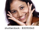 head shot of cheerful young...   Shutterstock . vector #83353363