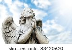 Beautiful Statue Of The Angel...