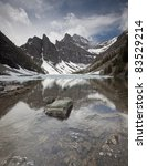 high mountain glacial lake ... | Shutterstock . vector #83529214