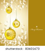 christmas background.... | Shutterstock . vector #83601673