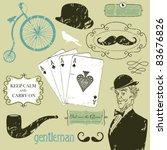 a gentlemen's club | Shutterstock .eps vector #83676826