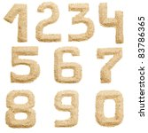 Set Of Sand Number  Isolated O...