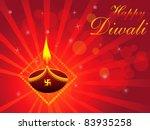 abstract deepawali background... | Shutterstock .eps vector #83935258