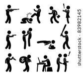 terrorist crime bad violence... | Shutterstock .eps vector #83982145