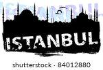 istanbul | Shutterstock .eps vector #84012880