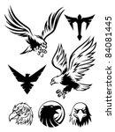 eagle symbol   Shutterstock .eps vector #84081445