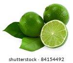 limes. | Shutterstock . vector #84154492