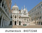 doges palace  venice  italy ... | Shutterstock . vector #84372268