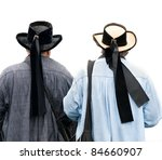 two breton costume | Shutterstock . vector #84660907