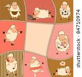 vector illustration of cartoon... | Shutterstock .eps vector #84710974