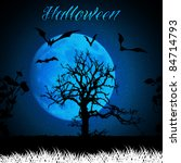 Halloween Background Template...